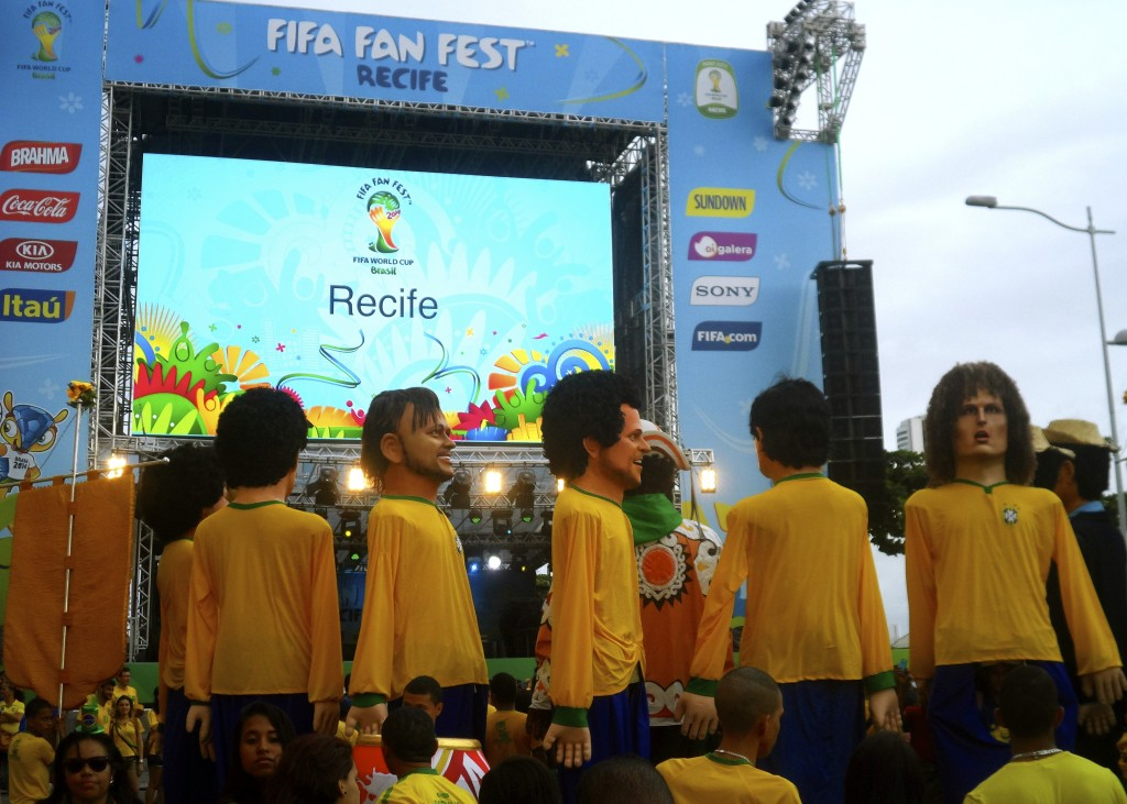 World Cup in Recife.
