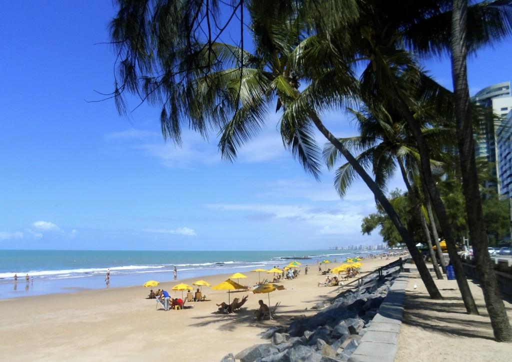 Boa Viagem beach in Recife.
