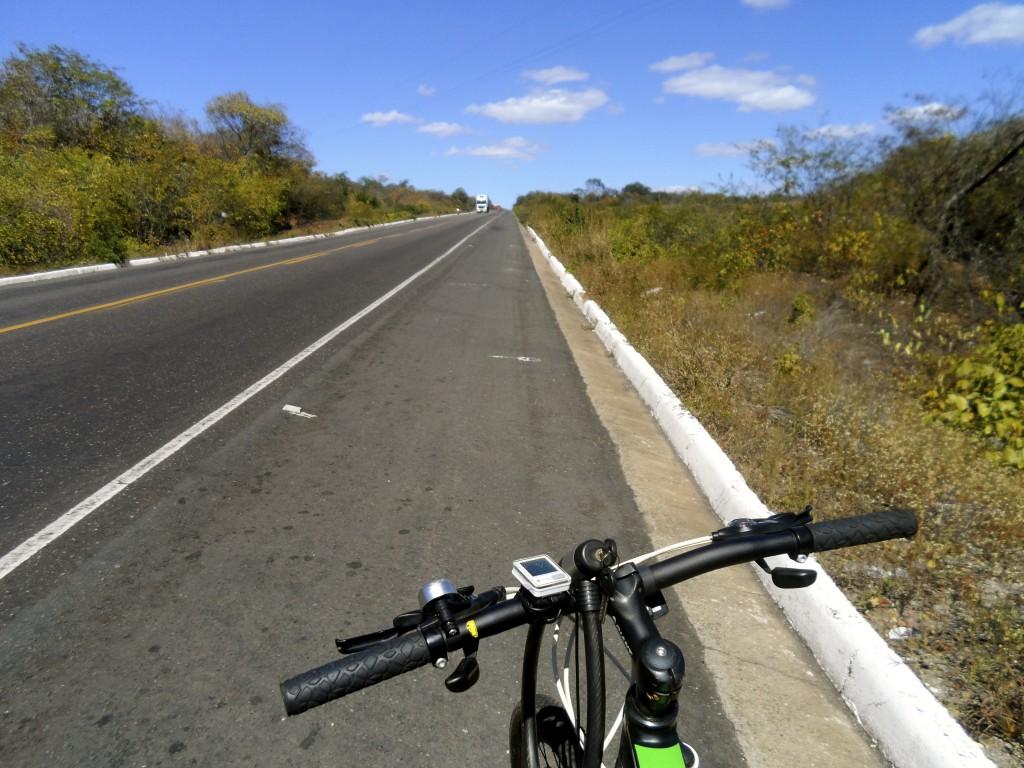 Biking Brazil.