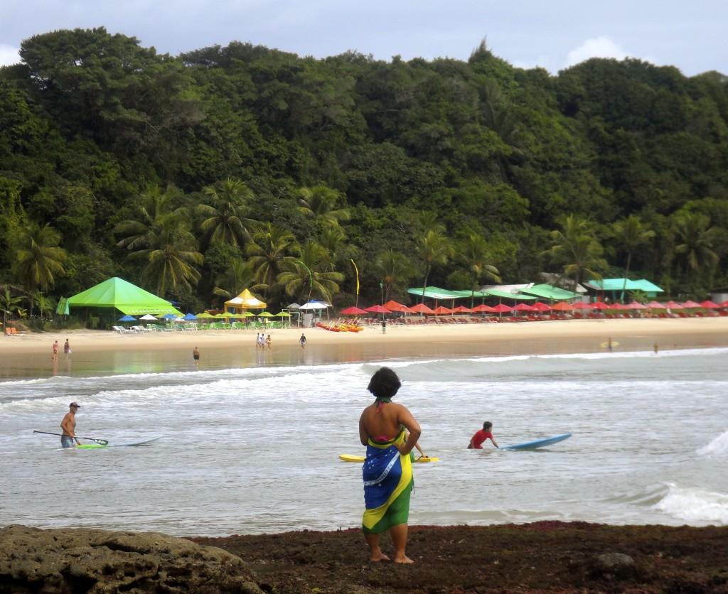 Brazilian beach.