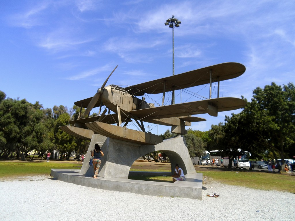 Flight monument.