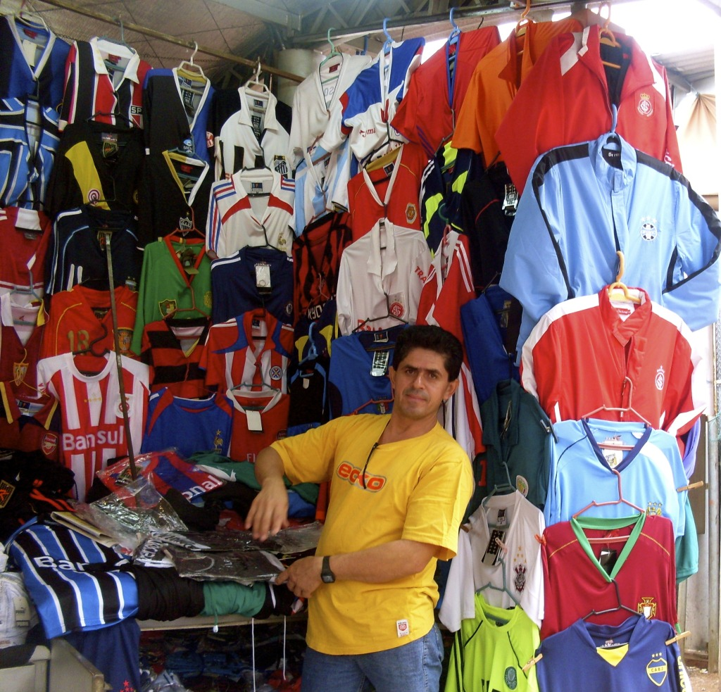Went to Paraguay to buy a football shirt.