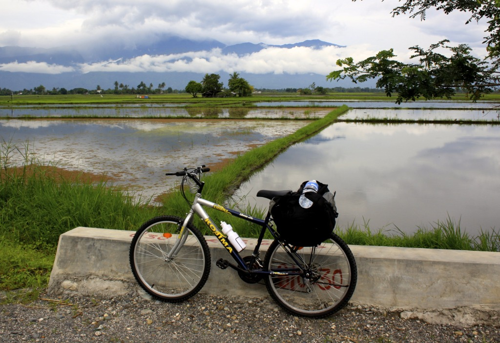 Cycling the Philippines.