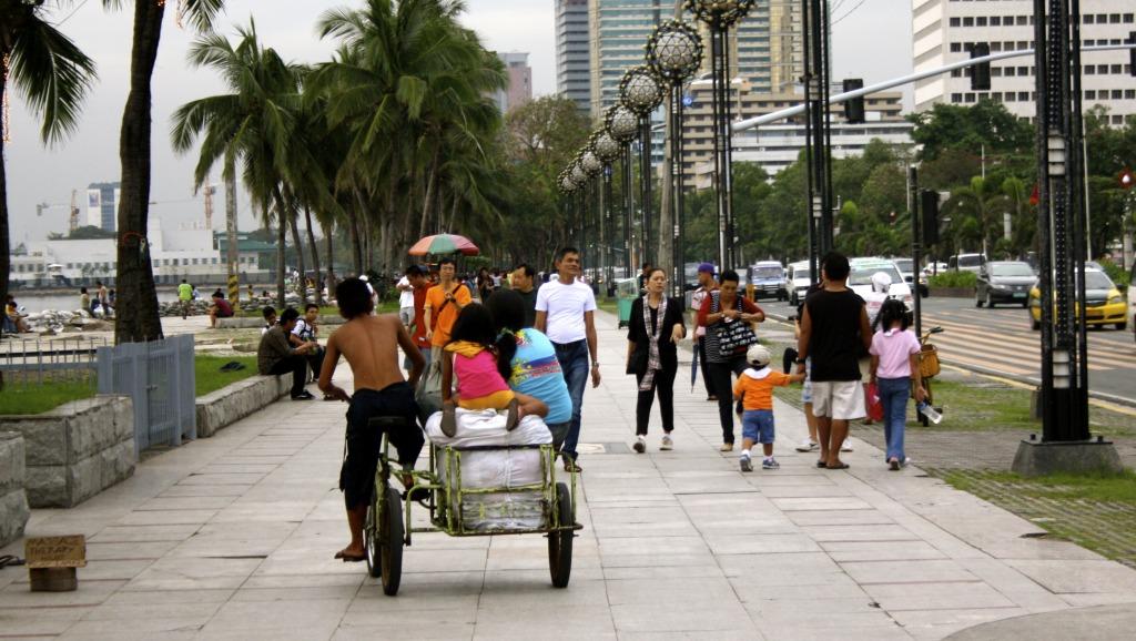 Streetscene from Manila.