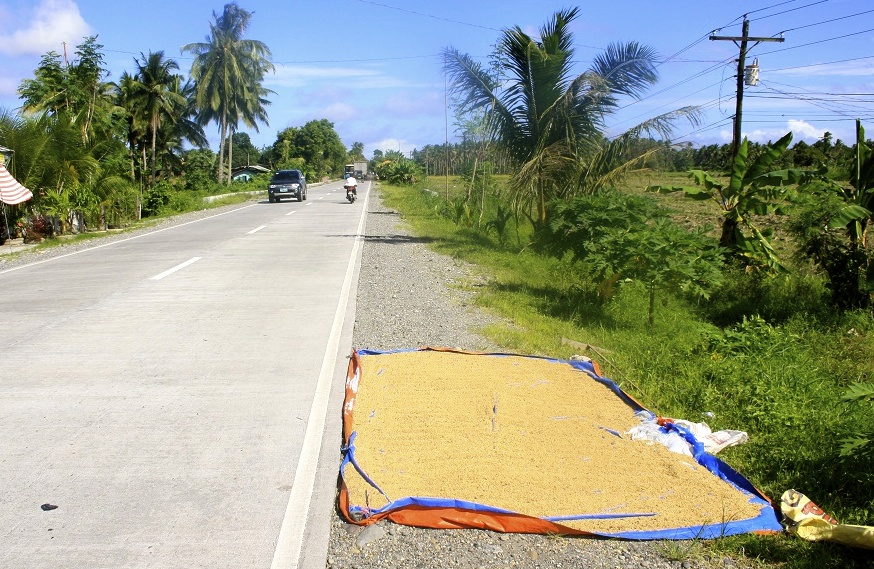 Road scene from the Philippines.