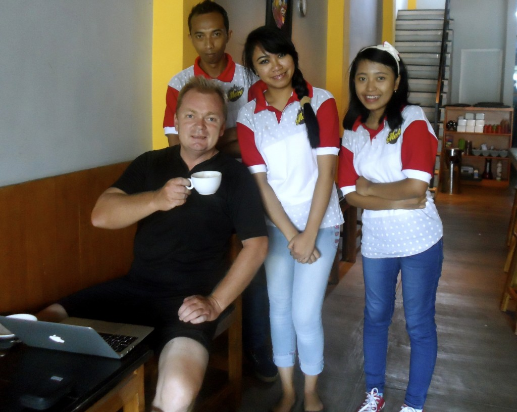 Me and some friendly indonesians.