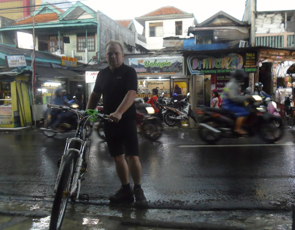 Cycling Indonesia in the wet season.