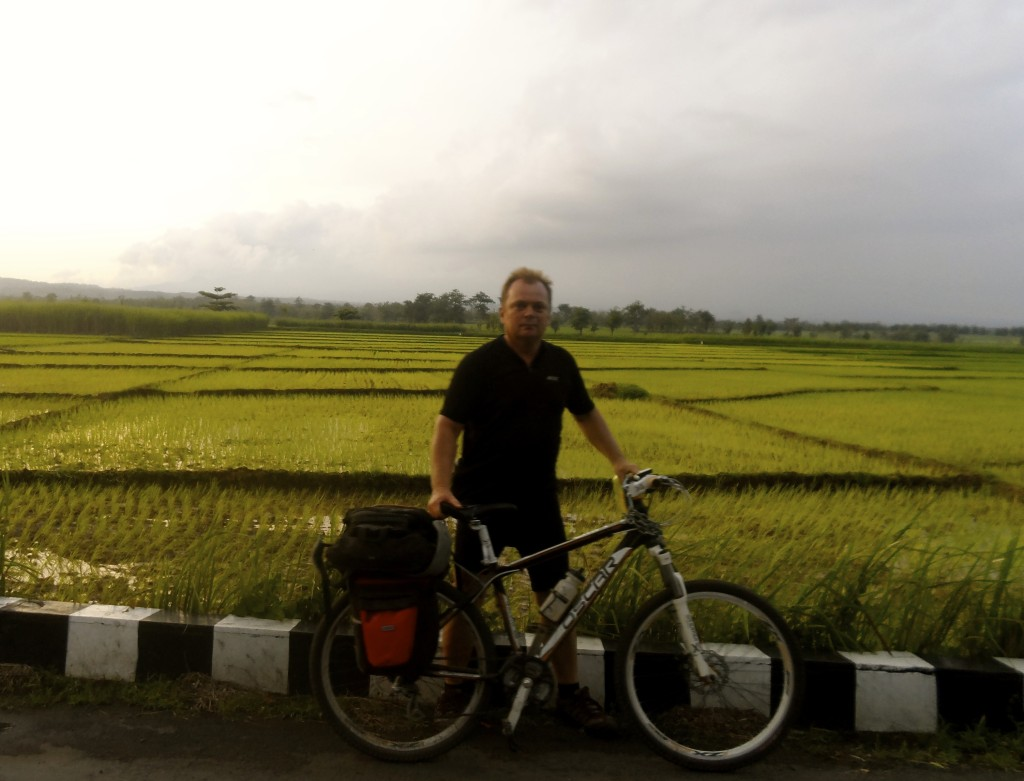 Cycling Java.