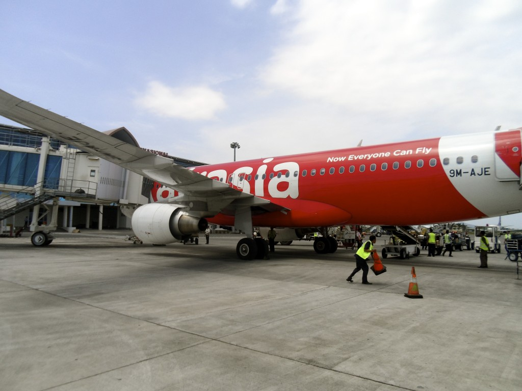 Nice new airplanes from Air Asia.