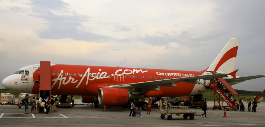 Flying with Air Asia.