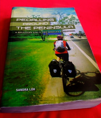 Pedalling the peninsula, by Sandra Loh.
