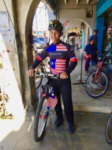 Malaysian cyclist