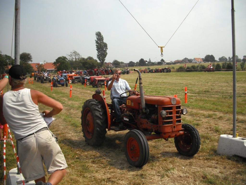 Massey Ferguson tractor festival in Bøjden.