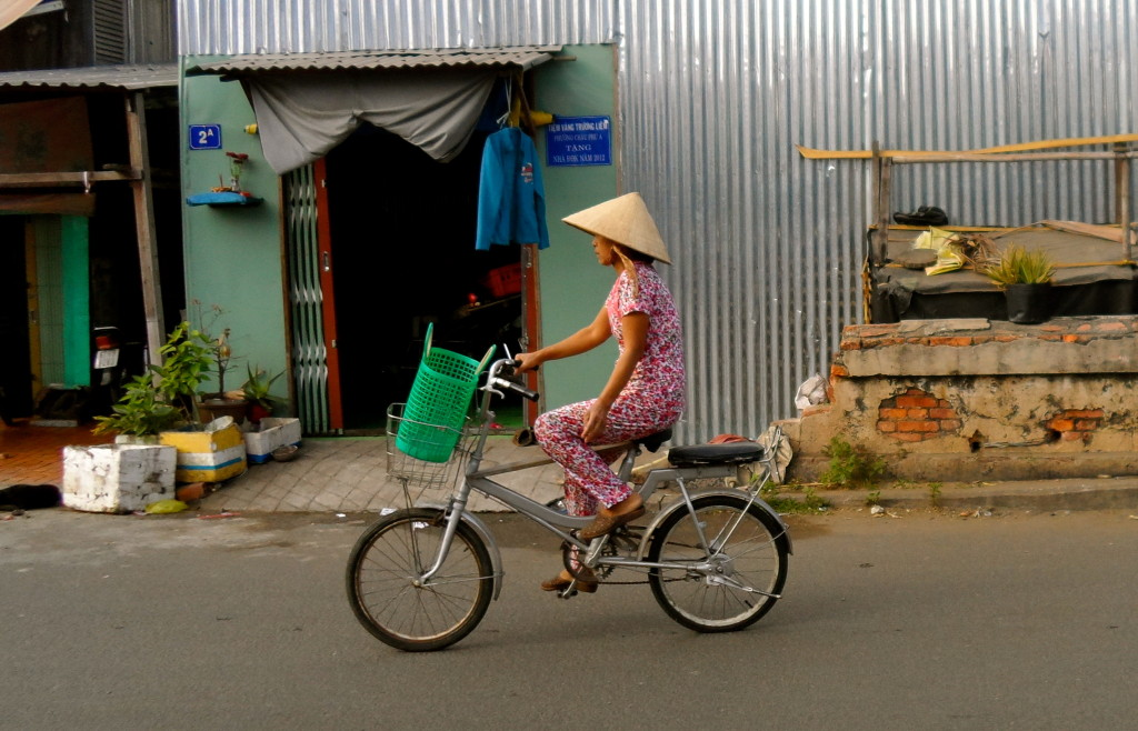 Cycling Vietnam.