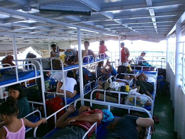 The overnight ferry to Cuyo Island