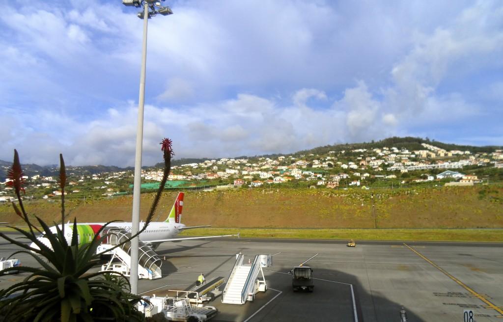 Madeira Airport.