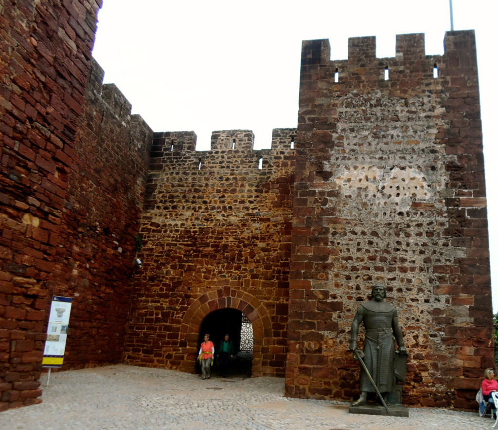 The castle in Silves.