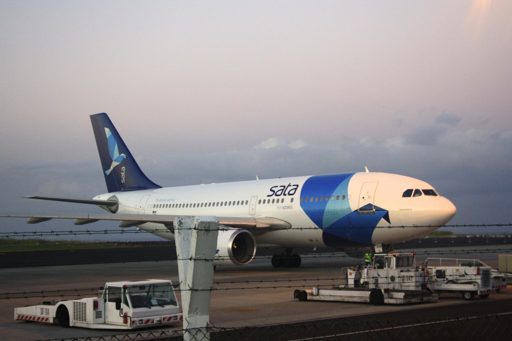 Flying to the Azores with SATA Airlines.