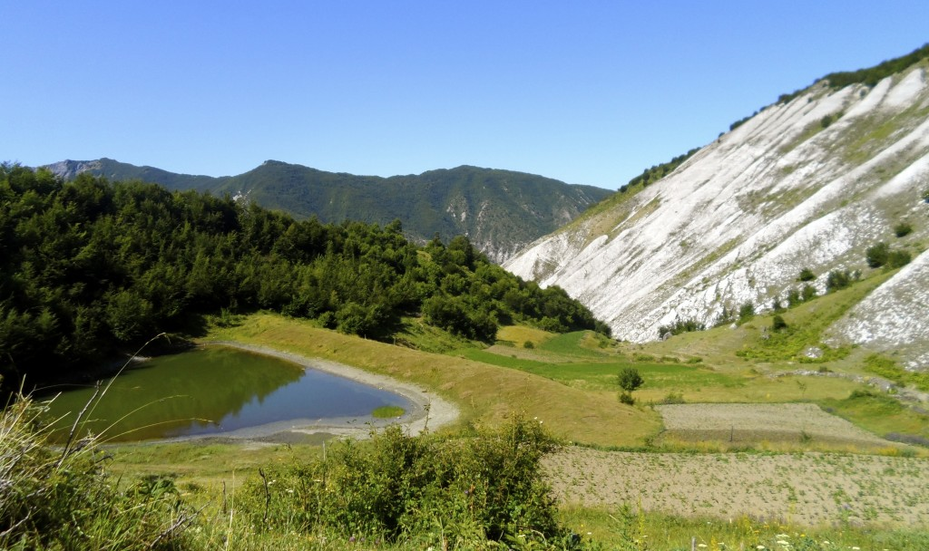 Stunning nature and no tourists in the albanian alps.