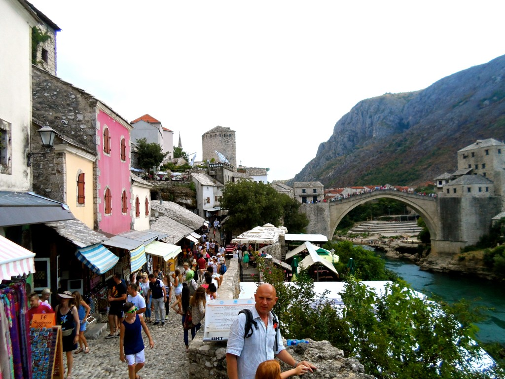 East Mostar in 2015.