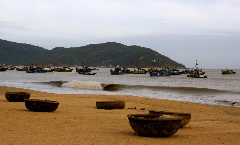 Vietnamese coastline.