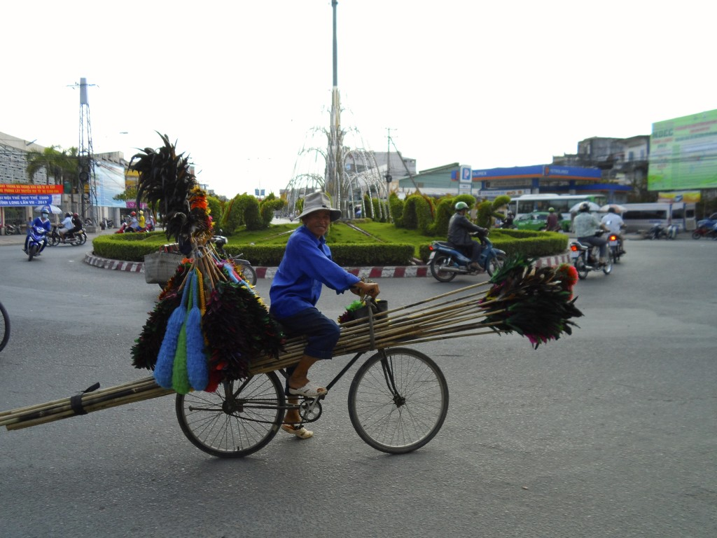 Vietnam and Cambodia are cycling countries.