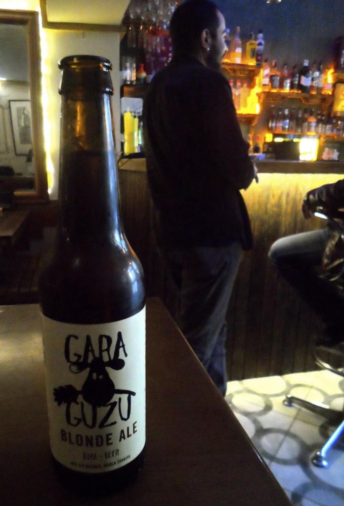 Nice Gara Guzu beer.