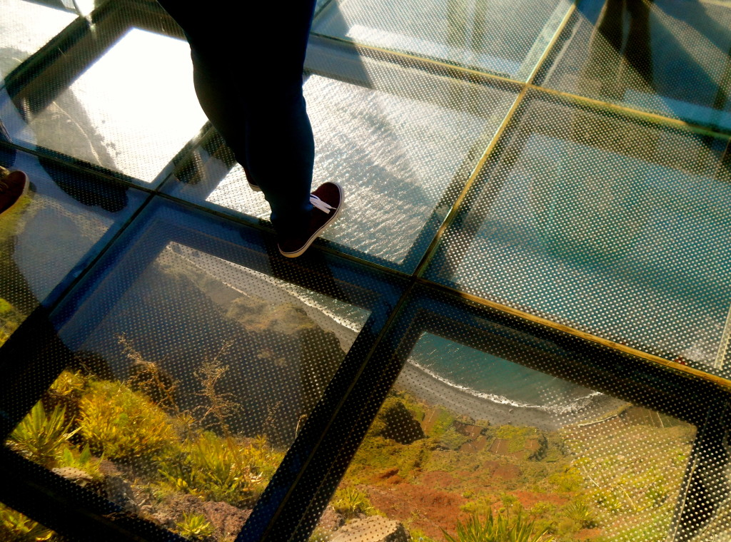 It's free to enter the Cabo Girao skywalk.