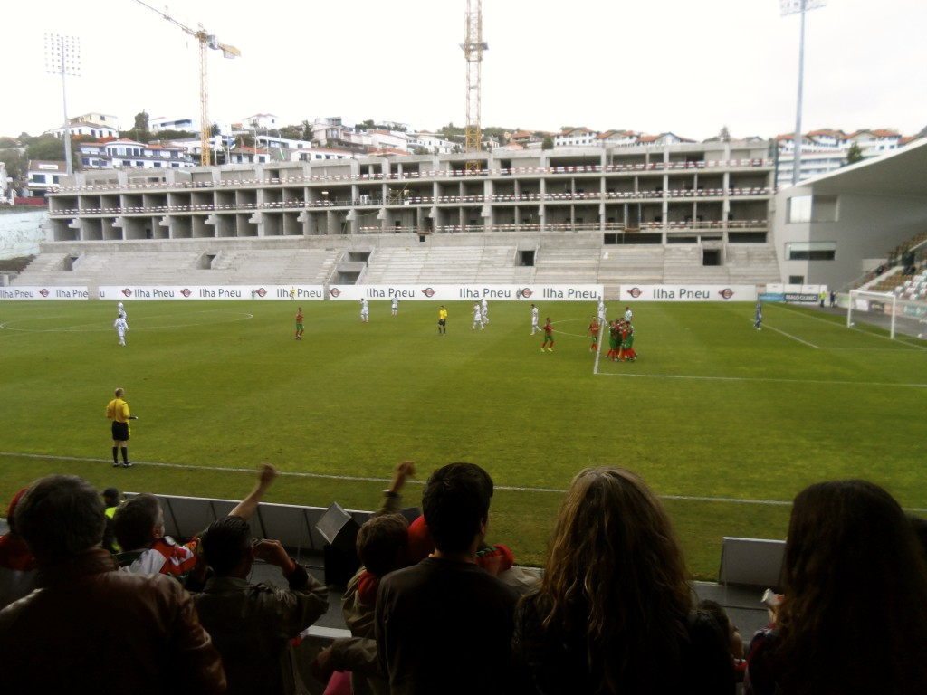Maritimo's stadium has been under renovation for quite a while.
