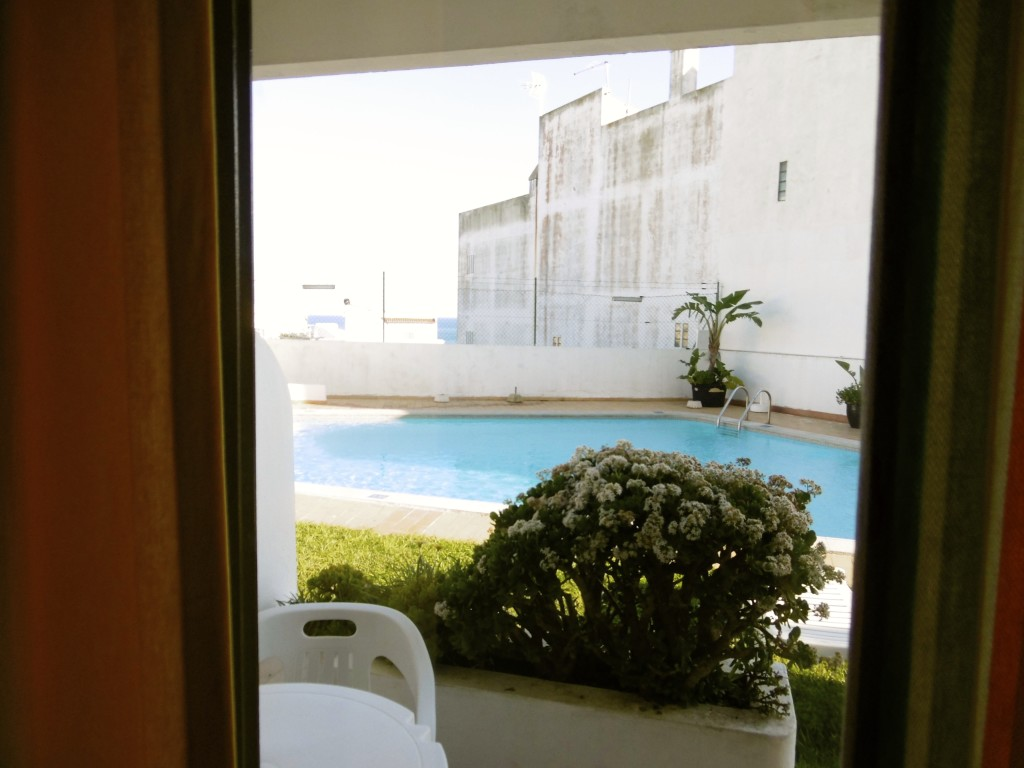 Looking out of my window at Apartamentos Rainha D. Leonor