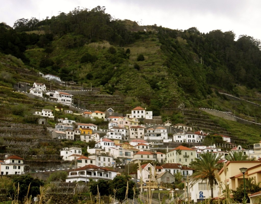 Rural Madeira rocks.