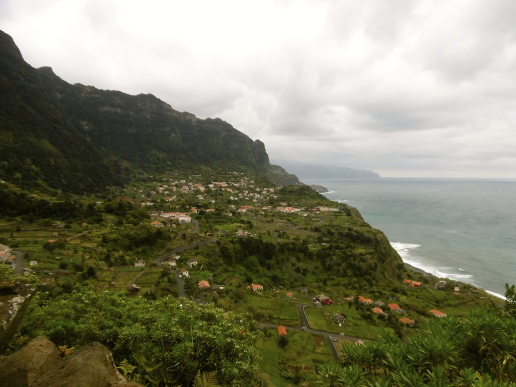 Great views of the north coast of Madeira.