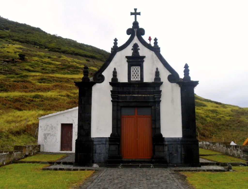 Chapel on Sao Jorge, Azores.