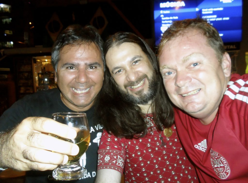 I met these two brazilian guys 24 years ago while traveling through Brazil and we are still great friends.