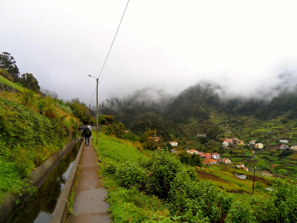 Levada walking.