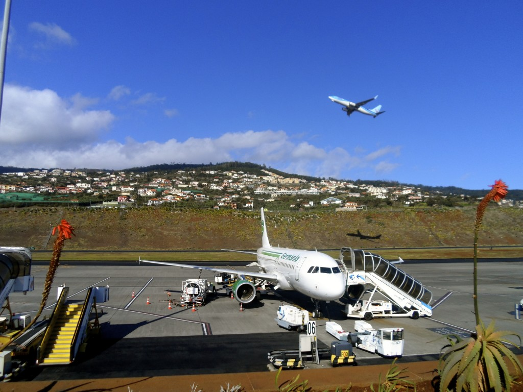 Madeira has a nice airport.