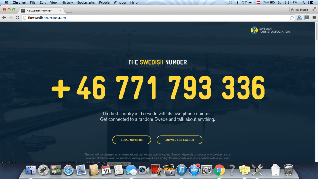 The swedish number.