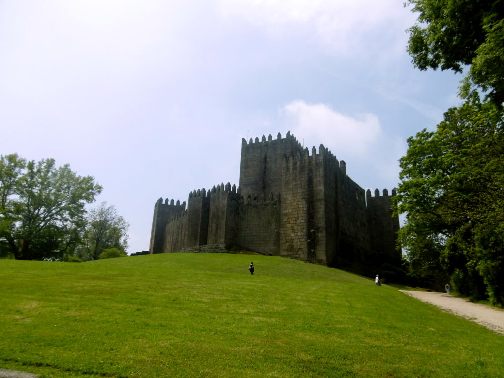 The castle in Guimaraes.