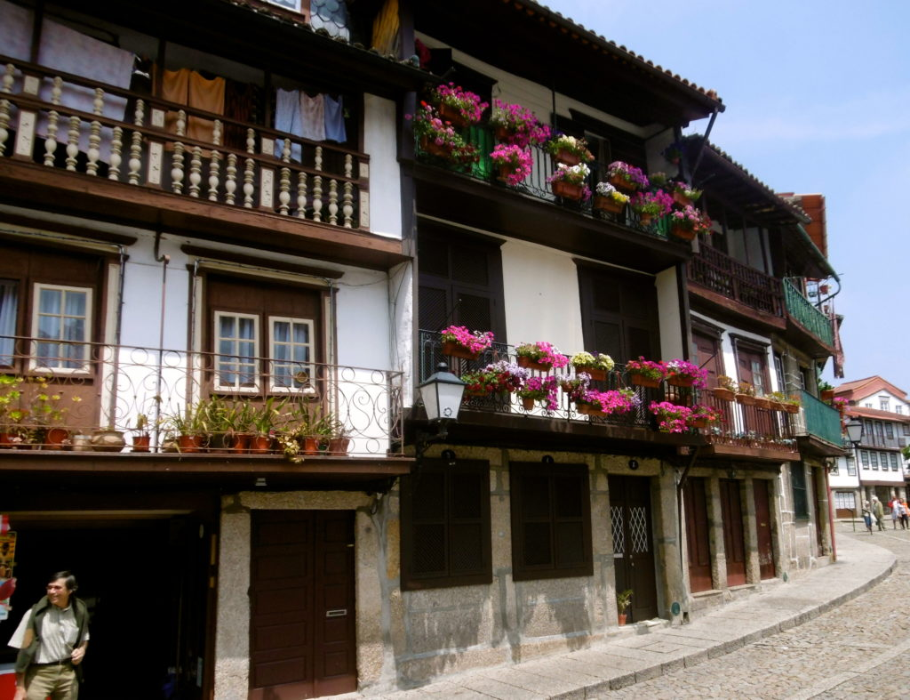Pretty old houses.