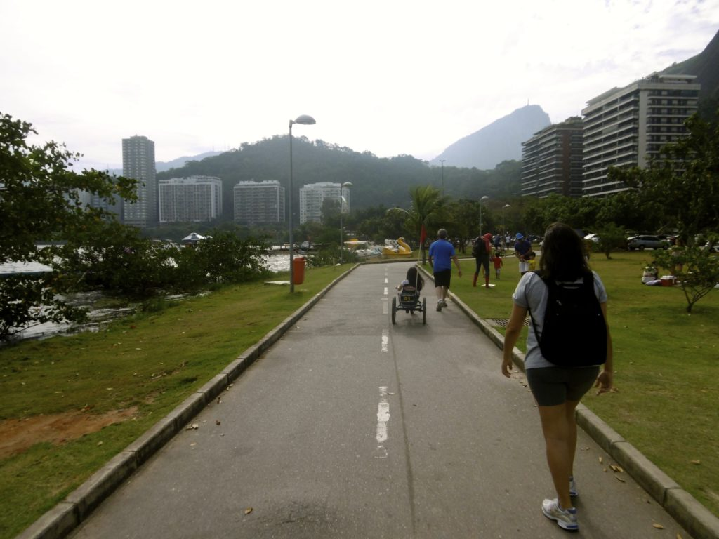 Cycling around Rio de Janeiro is great.