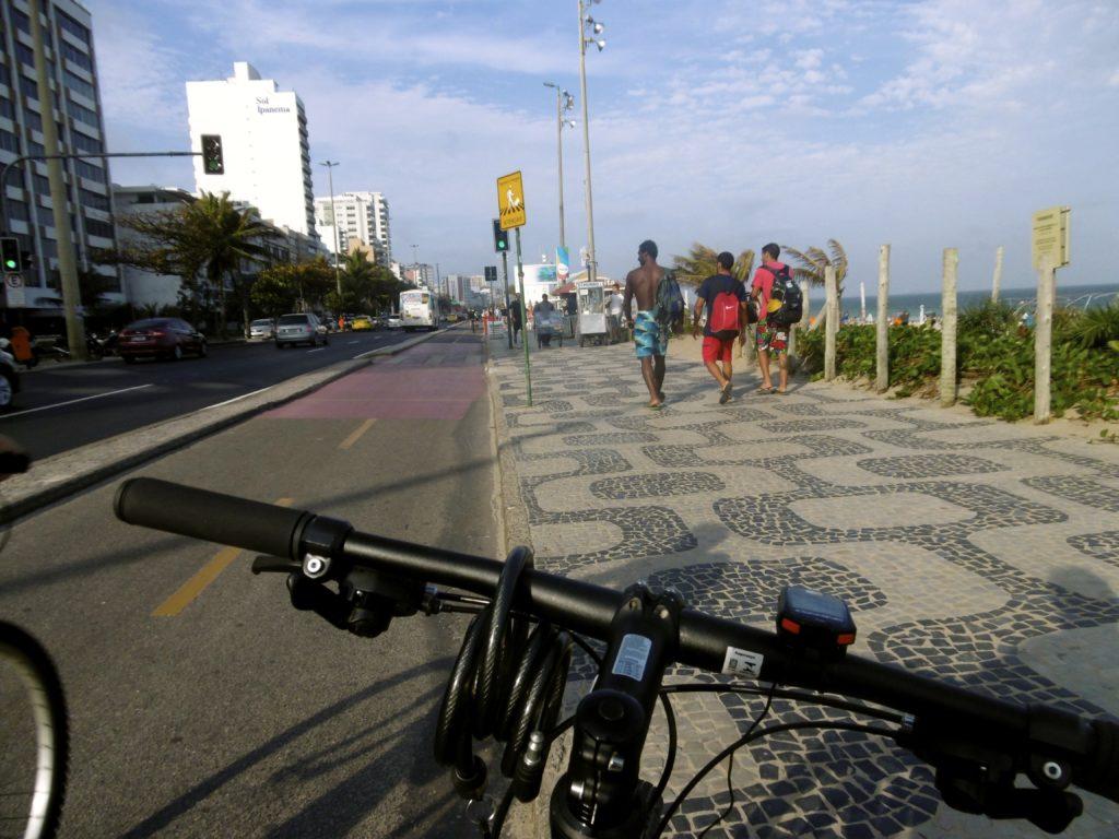 Happy cycling around Rio de Janeiro.