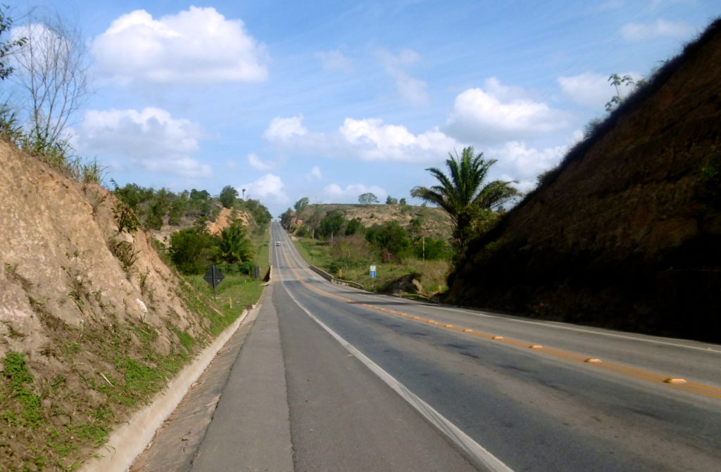 Cycling the brazilian highways is great.