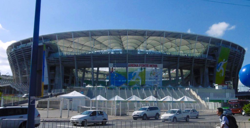 Arena Fonte Nova in Salvador.