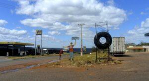Gas station Brazil