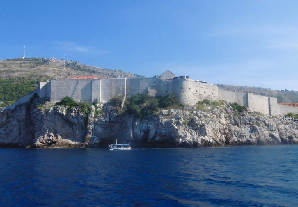 I started my day cruise in Dubrovnik.