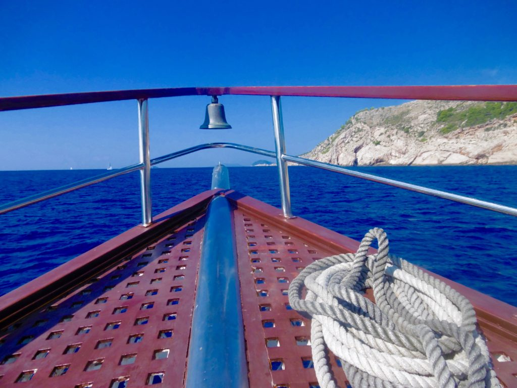 Cruising the Elaphiti Islands.