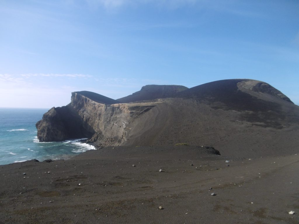 Capelinhos, where the last big volcanic eruption on the islands were.