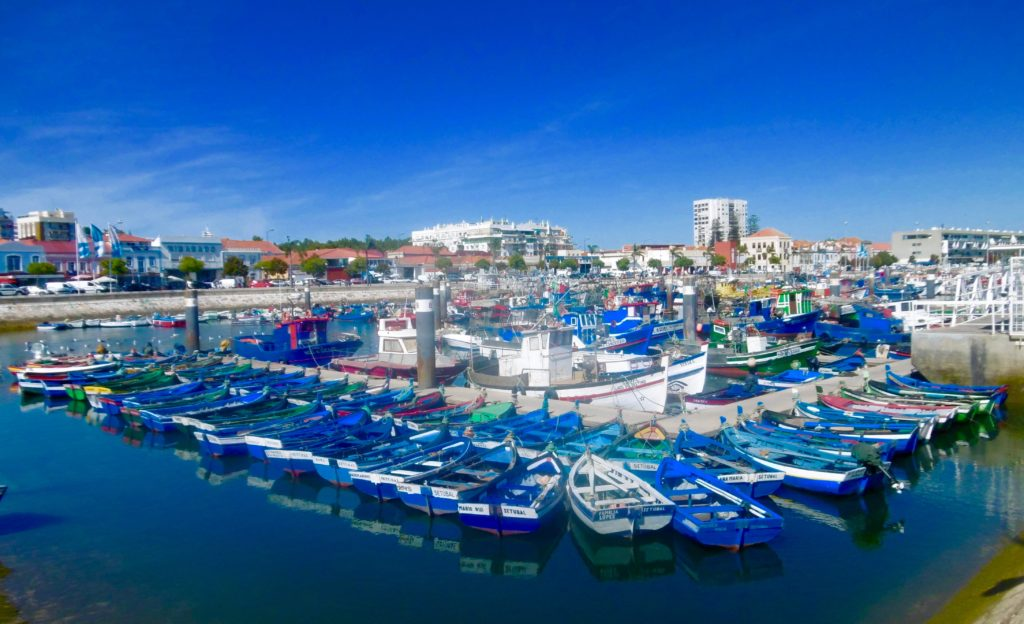The harbour in Setubal.