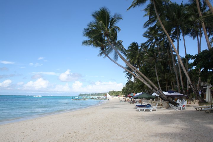 White Beach on Boracay.