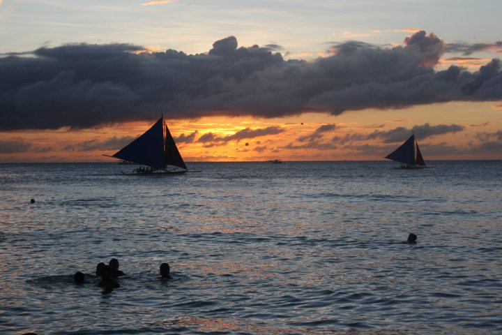 Boracay sunset.